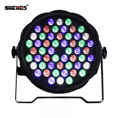 Fast Shipping LED 54x3W RGBW /54x3 Only Violet LED Flat Par RGBW Color Mixing DJ Wash Light Stage Uplighting KTV Disco DJ DMX512