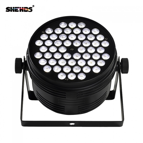 Aluminum Alloy Black LED Par 54x4W Cool/Warm Two-tone PowerCon Plug DMX 512 Stage Effect Lighting For Disco DJ Party Free Shipping