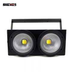 SHEHDS 2eyes 200W LED COB Blinder Cool White + Warm White Lighting