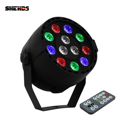 LED Par 12x3W RGBW LED Stage Light Par Light With DMX512 for Disco DJ Party Decoration Stage Lighting