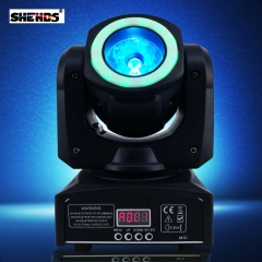 Mini LED 40W Moving Head Spot Beam Stage Lamps Effect RGBW & Mixed DMX For Professional Lighting