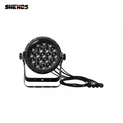 Newest Waterproof LED 19x12W Zoom Lens Standard Lighting Effect Lights