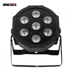 LED Flat Par 7x12W 7x18W RGBWA+UV  Stage Lighting