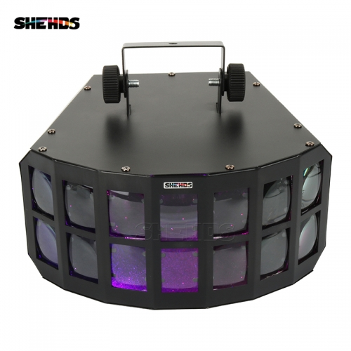 Fury LED Stage Effect Beam Lights Aluminum Alloy Double Butterfly Effect Linear Lighting Disco Clubs Professional Stage & Dj