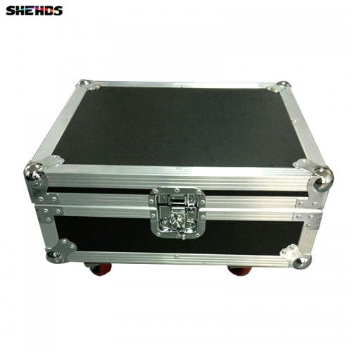 LED Beam Spider 8x10W RGBW Lighting FlightCase With 2 & 4 pcs Party Light DJ Free Shiping