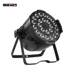 24x12W/24x18W  Led Par Light RGBW 4IN1/RGBWA+UV 6IN1 DMX DJ Disco KTV Party Stage Wedding Effect Equipment Powercon