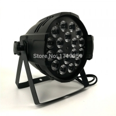 LED Par 18x15W RGBWA Light DMX Stage Lights Business Lights Professional Par Can for Party KTV Disco DJ Uplighing