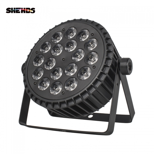 Aluminum Alloy LED Flat Par Light 18x12/18W  4/6in1 512 DMX  Event  Party KTV Disco DJ Stage Lighting