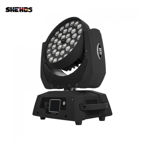 Good Quality 36x18W RGBWA UV 6in1 Indoor LED Par Zoom Light Colorful Wash Zoom Lights