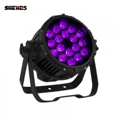 Waterproof Aluminum Alloy LED Big Par18x18W RGBWA+UV   6+1  Profeesional Stage Light
