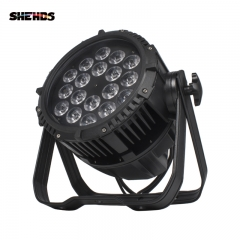 Waterproof Aluminum Alloy LED Big Par 18X12/18W Lght Out Door DJ Concert Show equipment