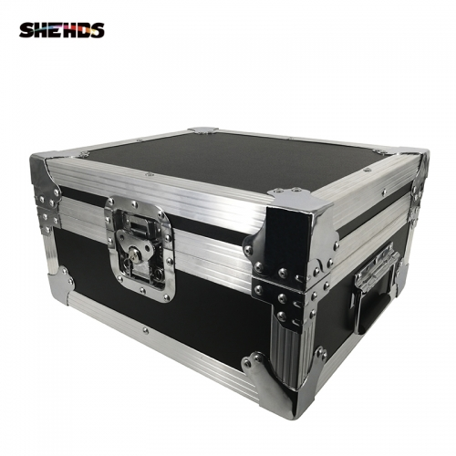 FlightCase With Big Black Shell Aluminum alloy LED Par 18x18W RGBWA+UV Lighting