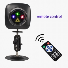Wireless Remote USB RGB&RG Charged Mini Laser Light DJ Disco Party Effect Lighting