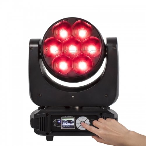 LED Bee Eye Zoom&Beam&Wash  7x40W RGBW 4IN1 Light Moving Head Professional Stage DJ Lighting