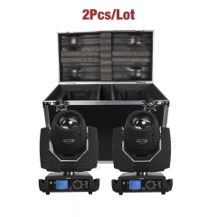 FlightCase with 2PCS Beam 230W 7R DMX512 Stage Effect Lighting Good for DJ Disco Party Wedding Bar