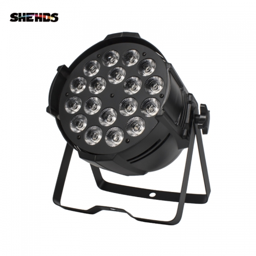 Big Aluminum alloy LED Par 18x18W RGBW(A+UV) 4/5/6in1Light Professional DJ Projector stage lighting