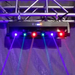Laser Moving Bar 6x500mw 6 Eyes RGB Stage Effect Beam Moving Head Lighting DJ Party Disco Wedding Stage