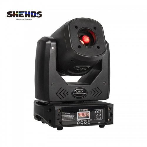 LED Spot 80W With Three-Prism Gobo Moving Head Light Party Dj Equipment Bar Light KTV Bar Stage Lighting Effect